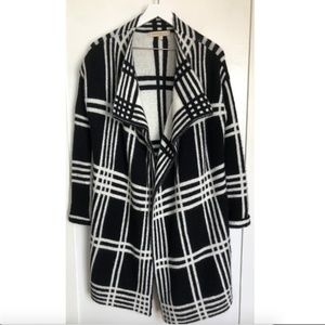Anthro Lineamaglia Sweater Coat Cardigan -  S
